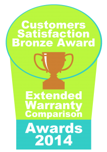 extended warranty comparison awards badge bronze 2014