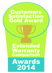 extended warranty comparison awards badge gold 2014